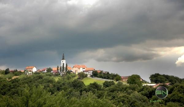 Gewitter Wolken HDR Slowenien - Nikon AW130 - SmartCamNews