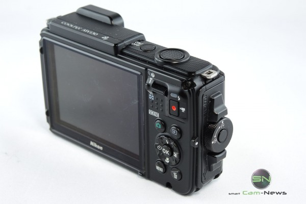 Rückseite Nikon AW130 - SmartCamNews