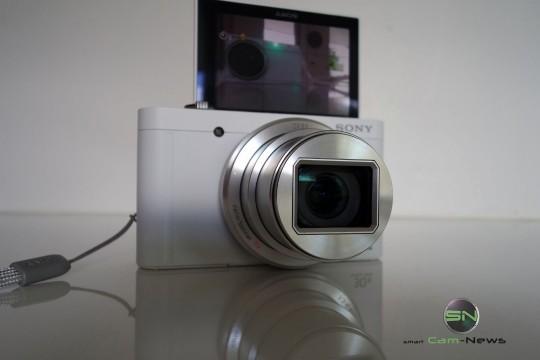 ausgeklappter Display - Sony DSC-WX500