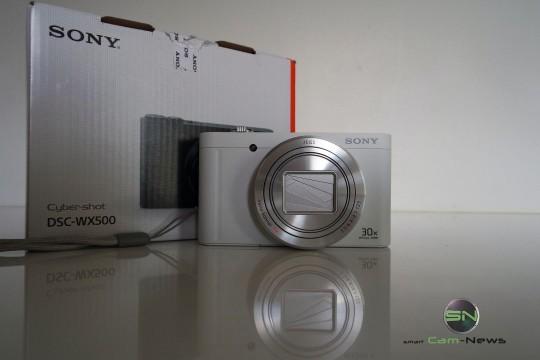 Verpackung - Sony DSC-WX500