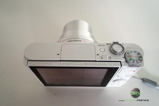 Oberseite- Sony DSC-WX500