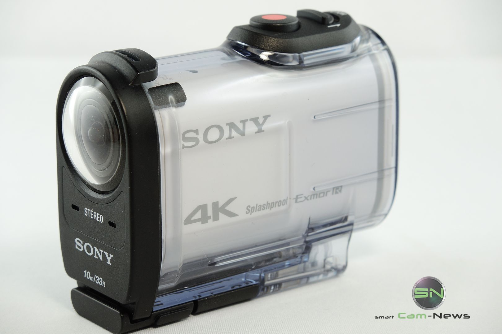 Outdoor Diving Case 10 Meter - Sony X1000V 4K ActionCam - SmartCAMNews