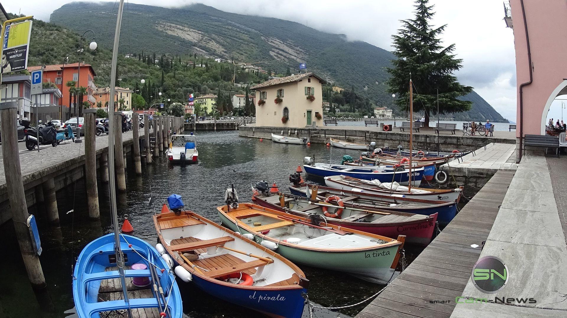 die Boote in Riva - Sony 4K ActionCam X1000V - SmartCamNews