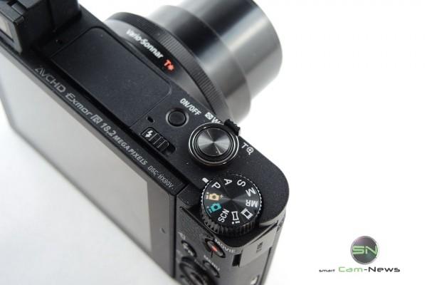 Bedienelemente mit PASM und Panorama - Sony HX90V - SmartCamNews