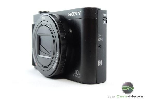 GPS NFC WLan - Sony HX90V - SmartCamNews