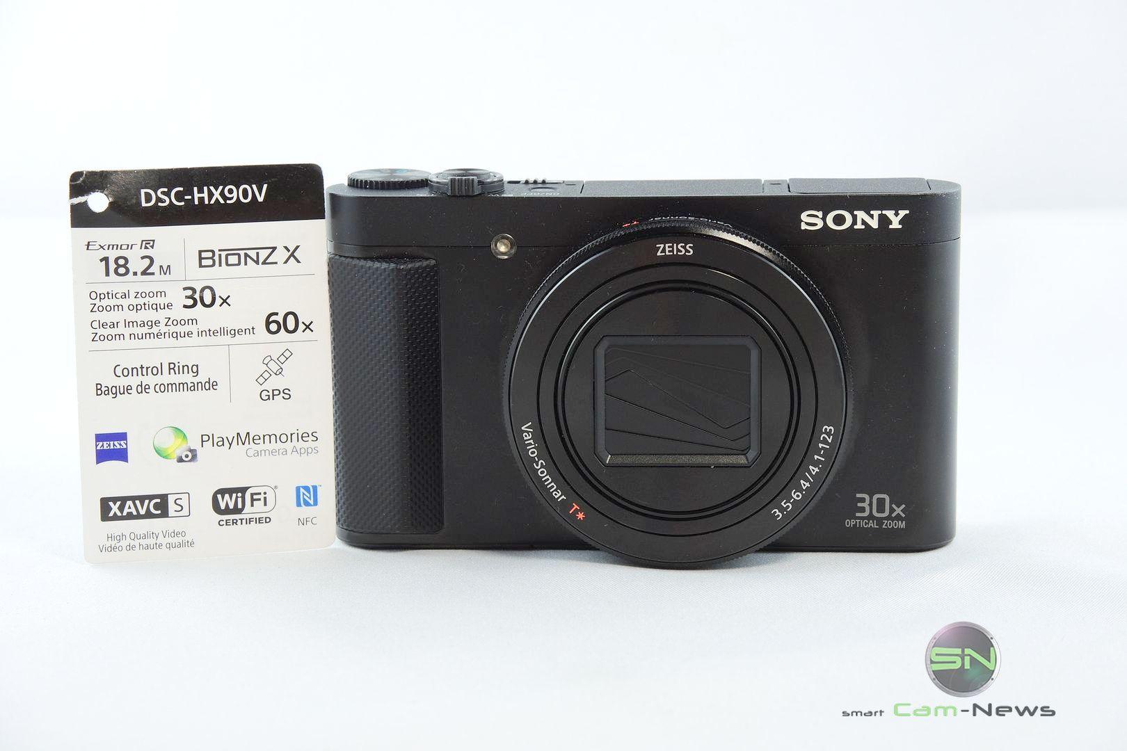 Sony DSC HX90V – Mega Reisezoom Kamera