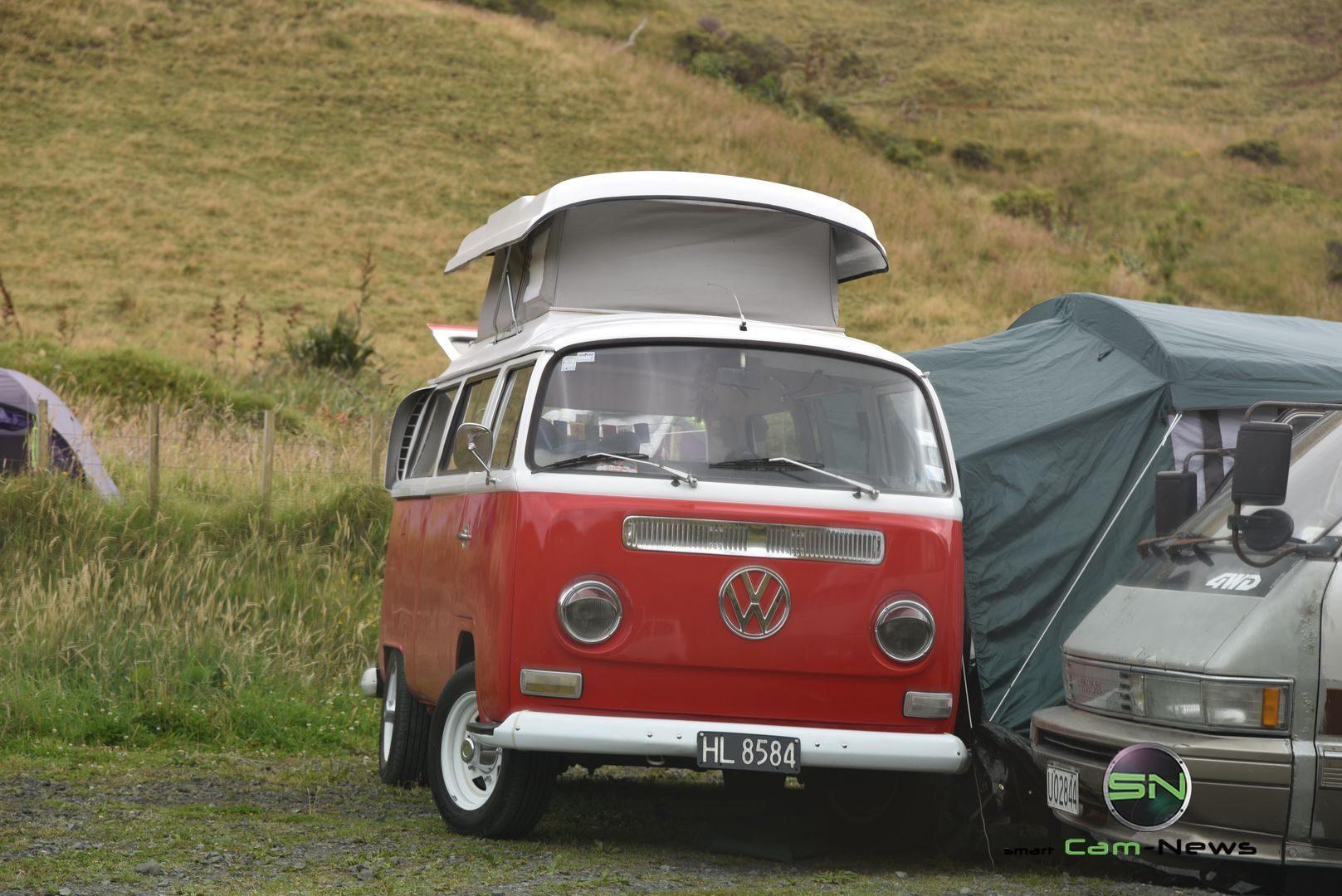 Camping in Neuseeland - VW Bully - Nikon D750 - SmartCamNews
