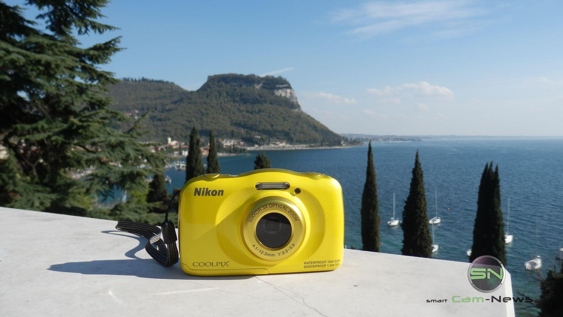 am Gardasee: Nikon Coolpix S33 / W100 Outdoor Kamera Schnäppchen