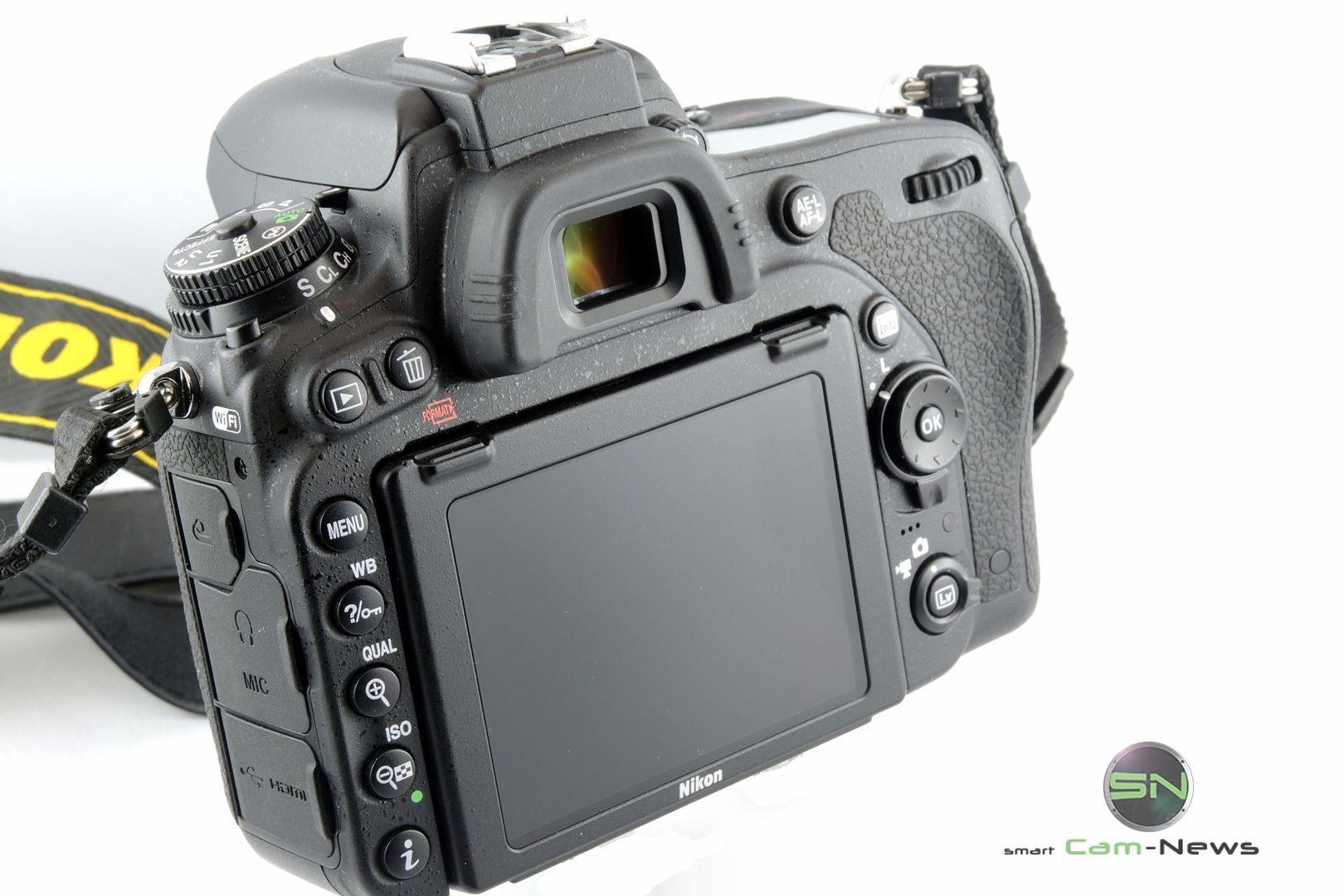 Rückseite Nikon D750 - SmartCamNews