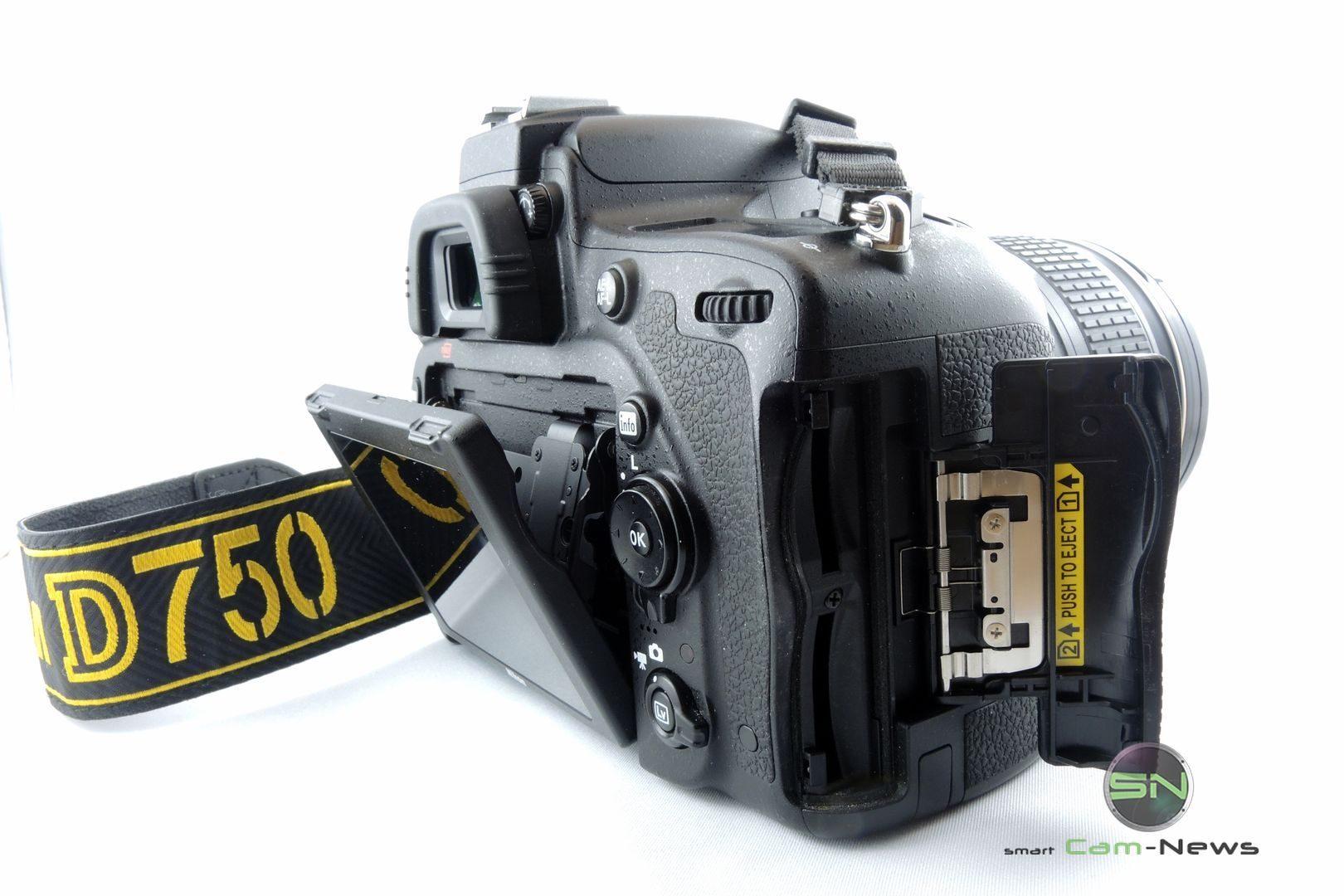 doppelter SD Schacht - Nikon D750 - SmartCamNews