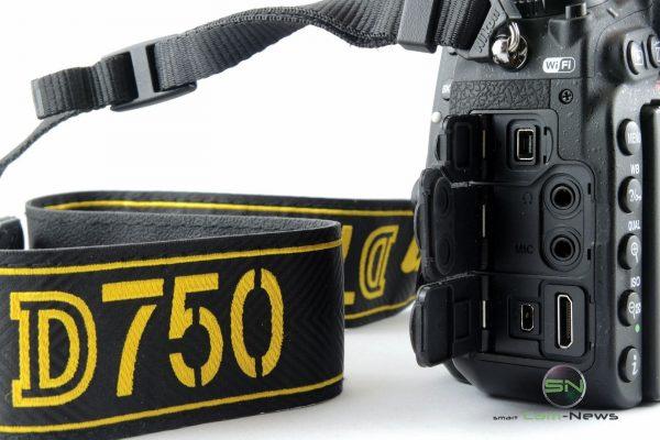 externe Anschlüsse - Nikon D750 - SmartCamNews