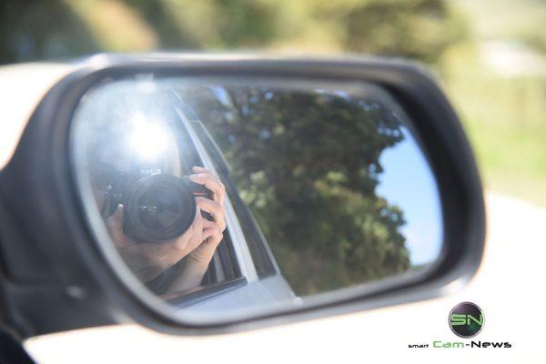 geblitzt durch den Rückspiegel - Nikon D750 - SmartCamNews