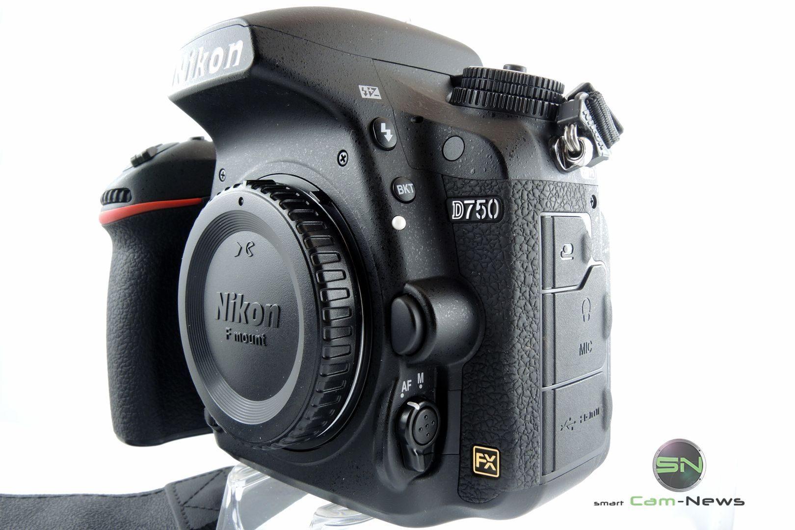 seitliche Ansicht - Nikon D750 Body - SmartCamNews