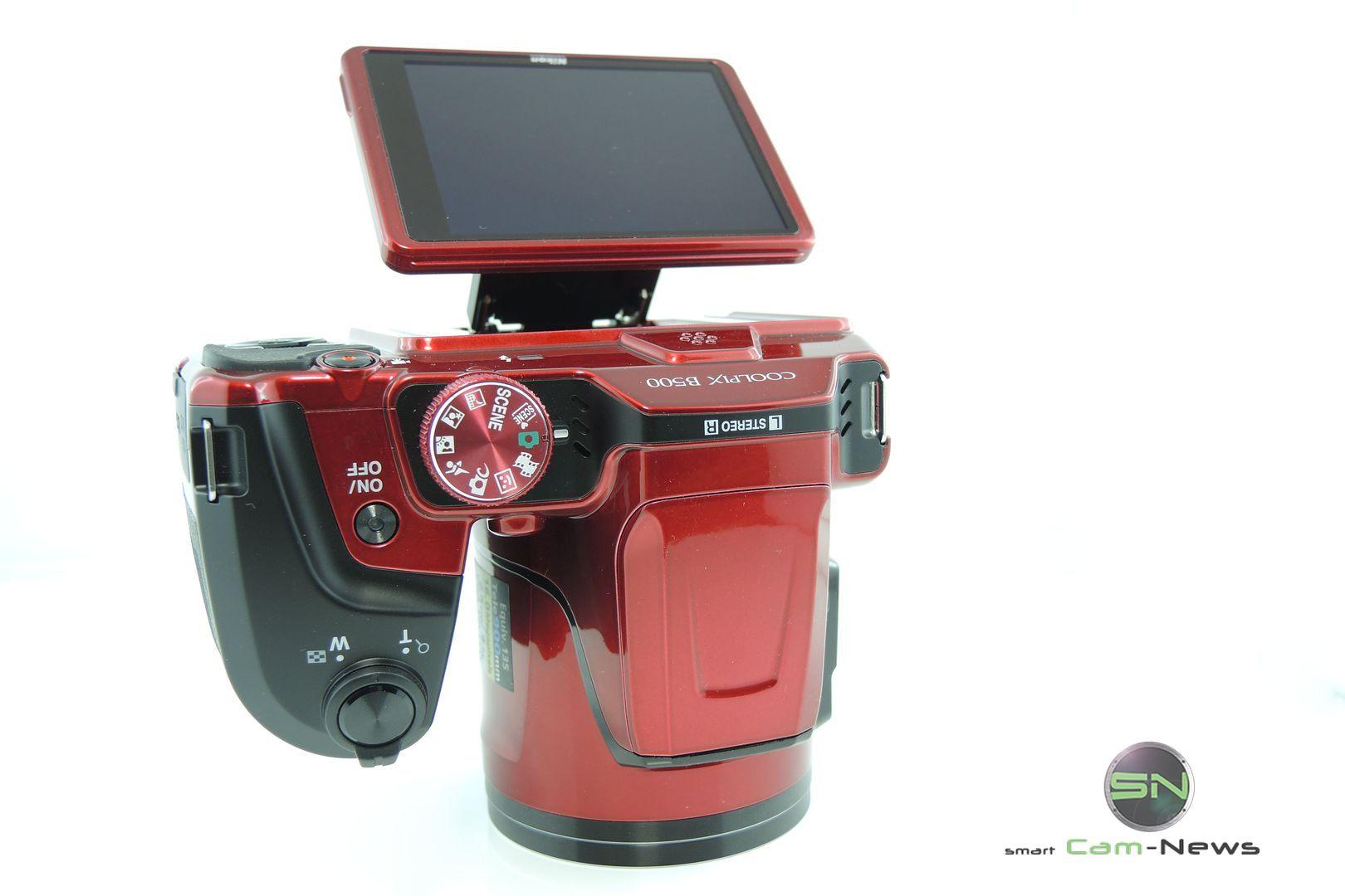 Toskana Reise: Nikon B500 Einsteiger MegaZoom Kamera