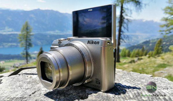 Klappdisplay Position 3 - Nikon Coolpix A900 MegaZoom - Millstättersee - SmartCamNews