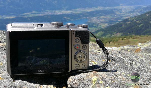 Rückseite - Nikon Coolpix A900 MegaZoom - Millstättersee - SmartCamNews