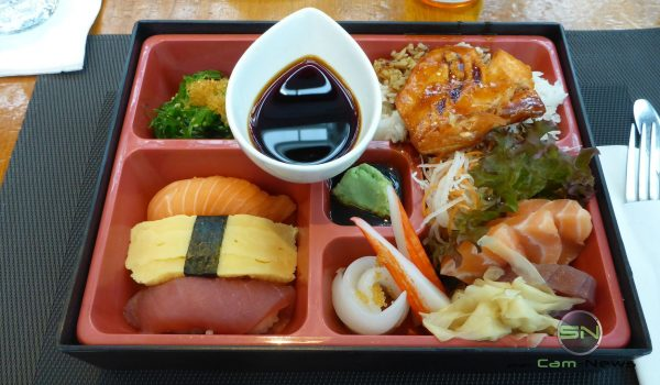 Sushi pur - Panasonic FT5 - SmartCamNews