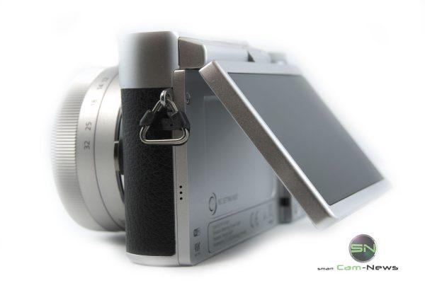 Klapp Display Selfie 180 Graf - Panasonic GX800K - SmartCamNews