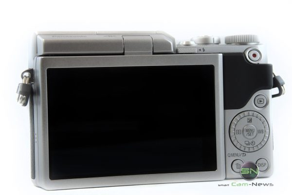 Rückseite Display Bedienung - Panasonic GX800K - SmartCamNews
