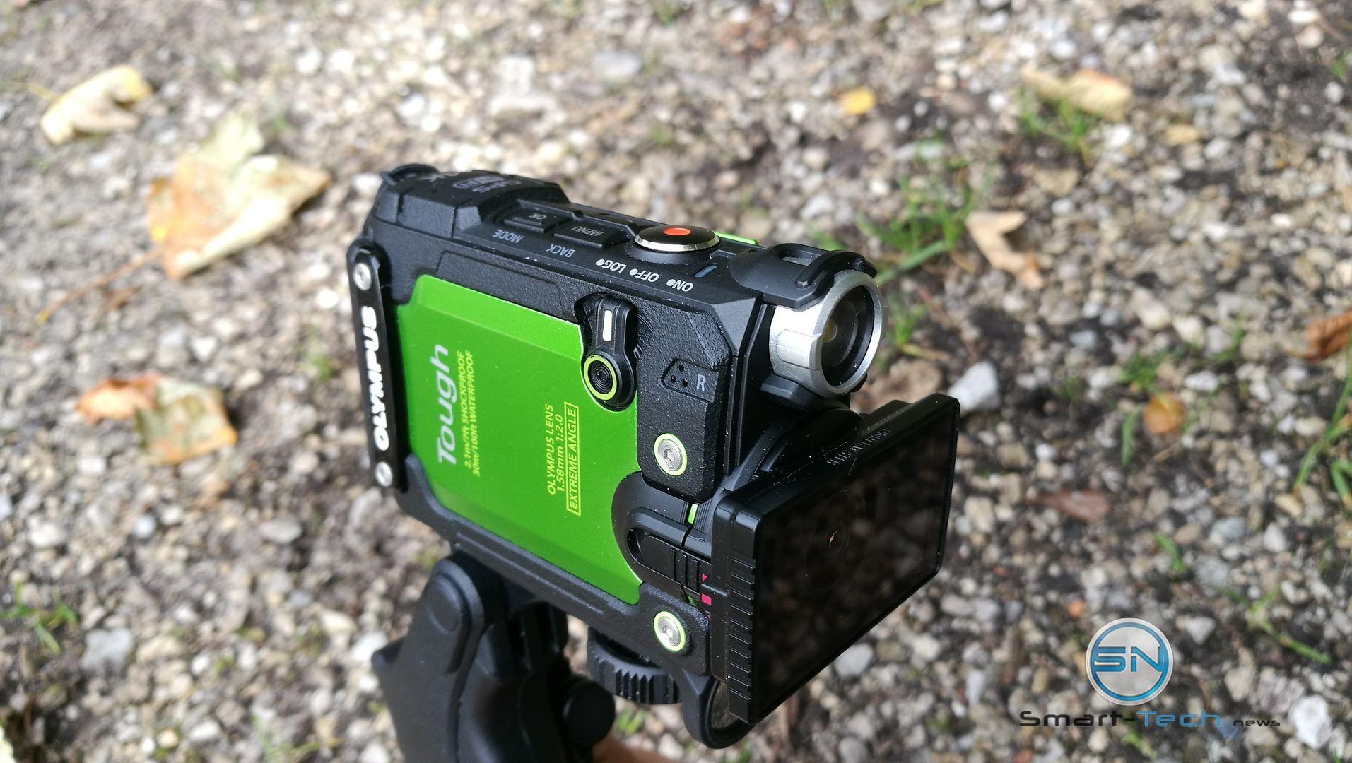 Olympus TG-Tracker 4K eine Kamera taucht 30 Meter ab