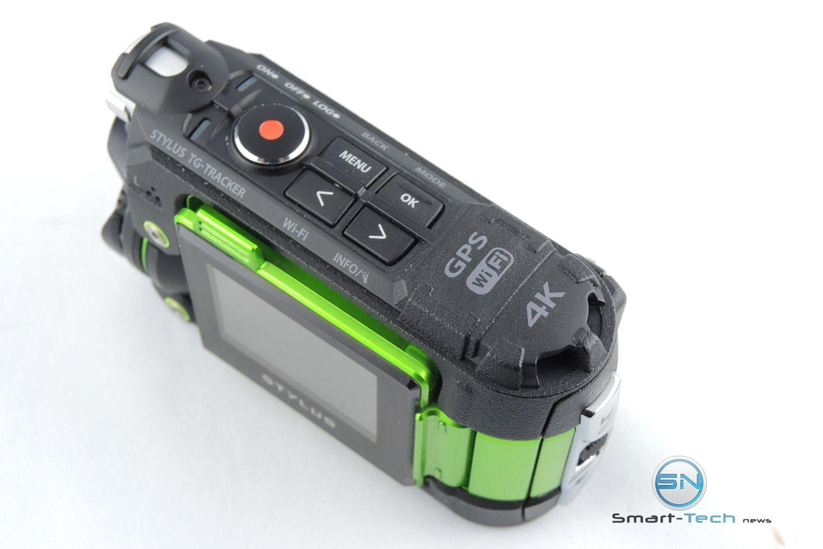 Bedienfeld - Olympus TG Tracker - SmartCamNews
