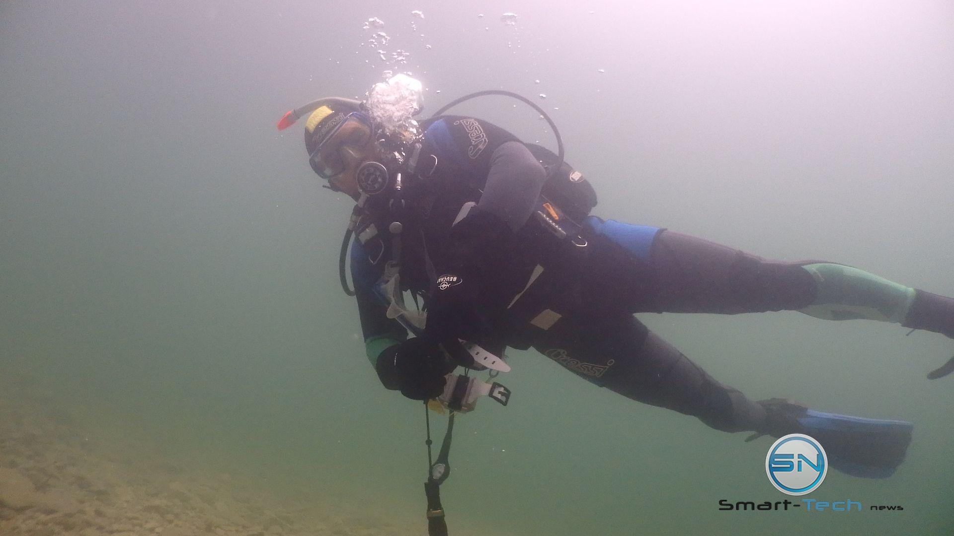 Diver Achensee Olympus TG Tracker - SmartTechNews