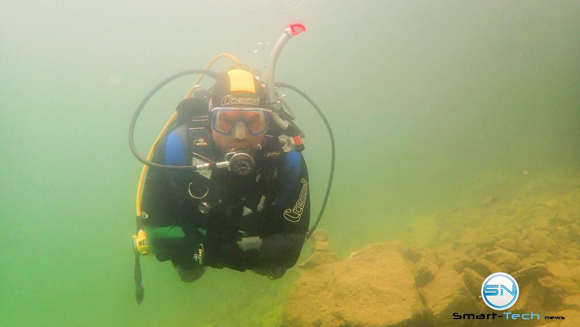 Diver im Achensee Olympus TG 5 - SmartTechNews