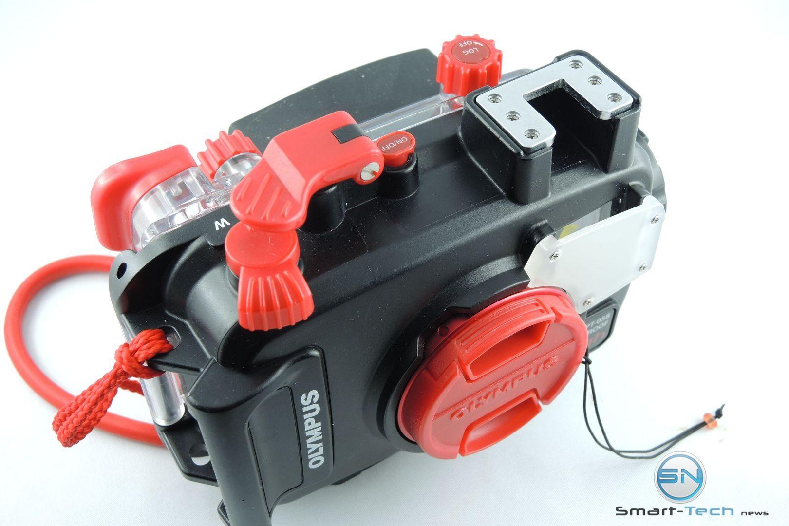 Power und Zoom Olympus PT 058 UW Gehäuse - Smart-Tech-News