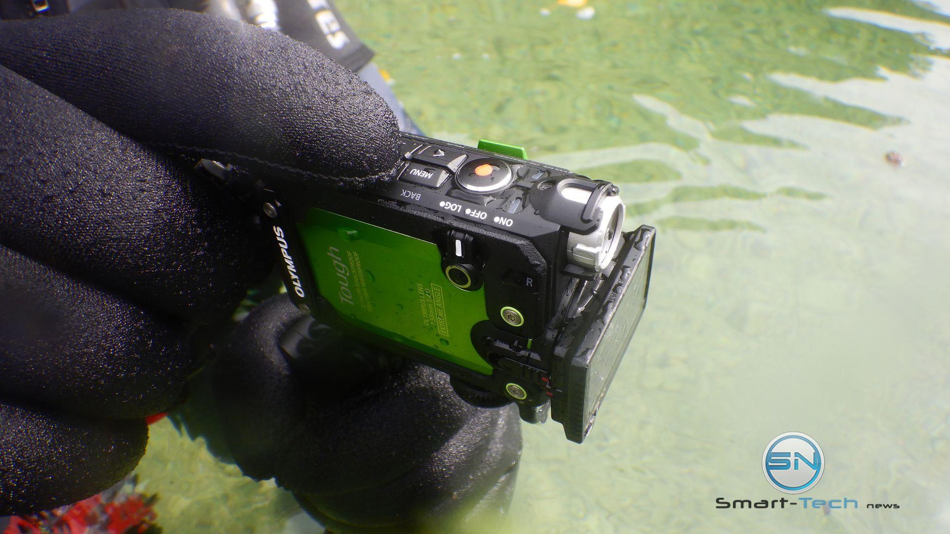 cold water - Diving Test Olympus TG Tracker Achensee Tirol SETFUN