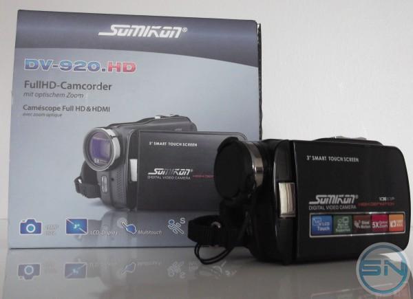 Alltagstest der Somikon Video Kamera DV-920 HD
