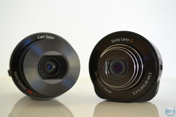 Sony QX10 und QX100 – Wechselobjektive für dein Smartphone