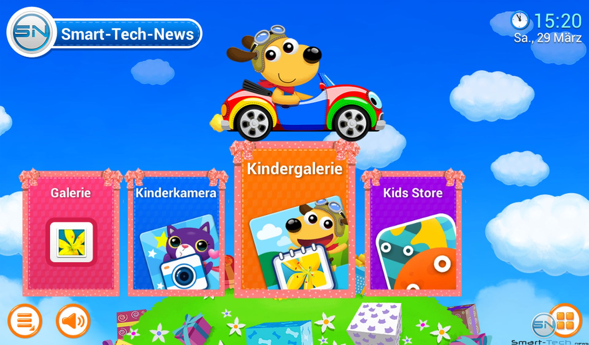 Samsung Galaxy Tab 3 Kids -Kinderoberfläche - smart-tech-news