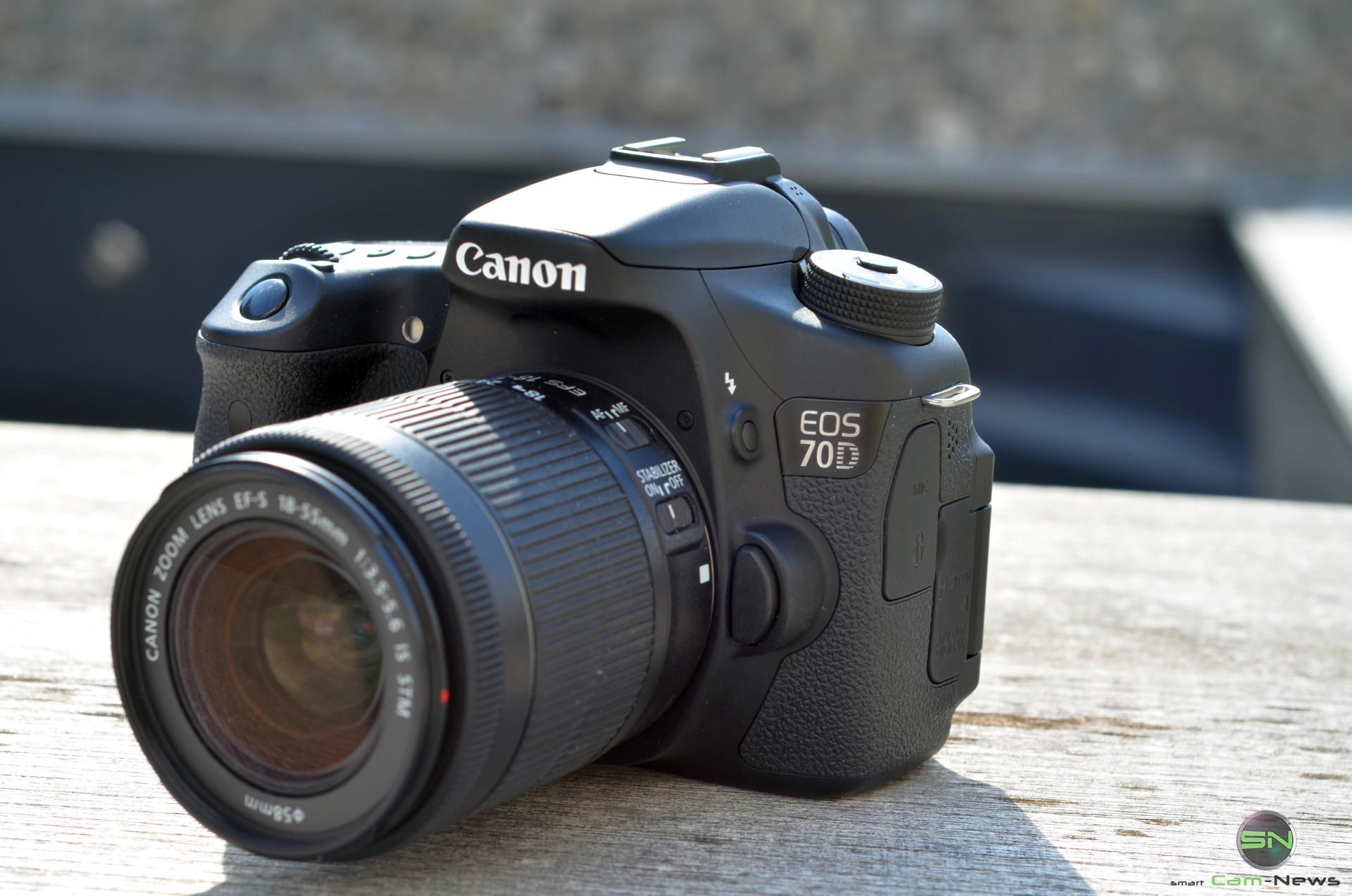 Canon EOS 70D – Semiprofikamera