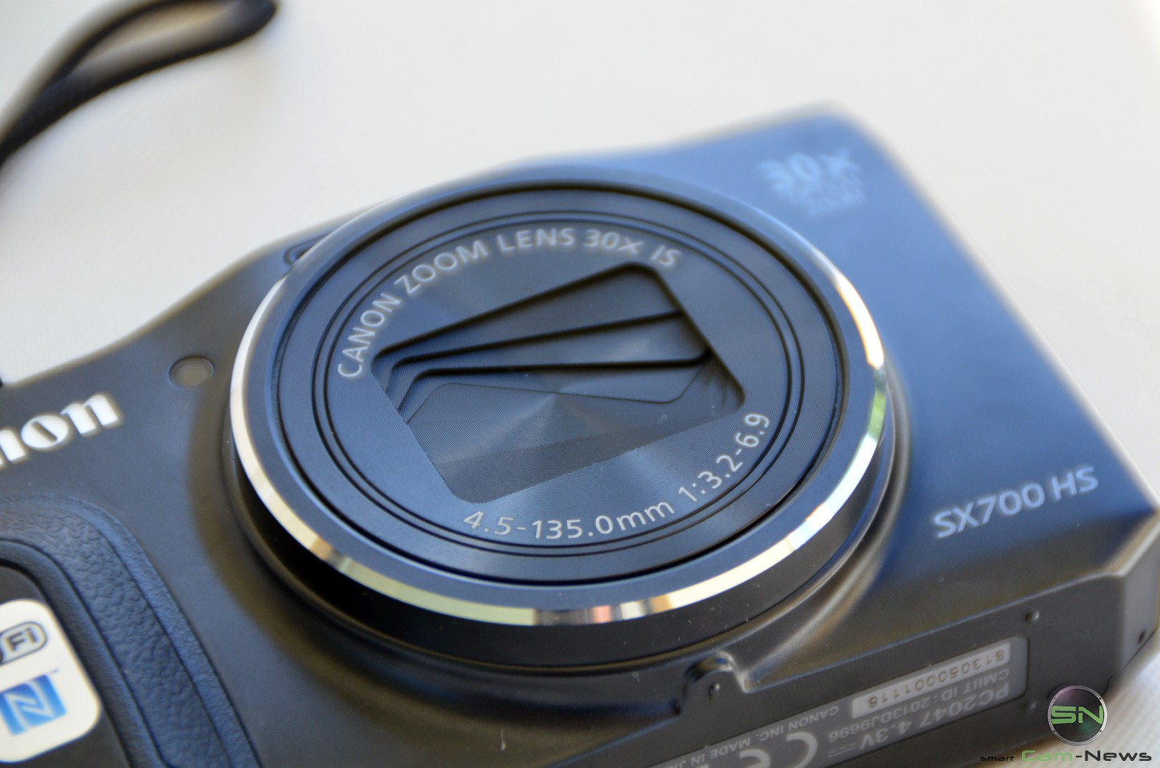 Canon Powershot SX700 im Test
