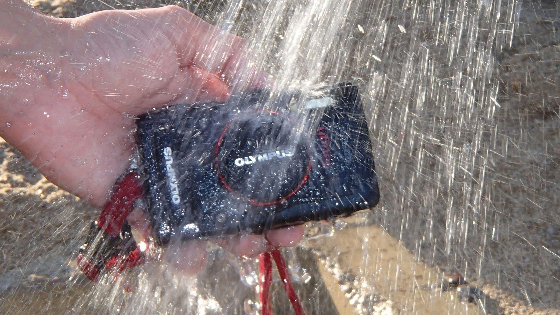 Olympus TG 3 - Im Wassertest - Reinigung nach dem tauchen