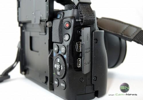 Anschlüsse - Canon G1x mark II - SmartCamNews