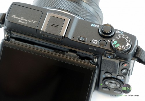 Ansicht oben - Canon G1x mark II - SmartCamNews