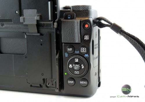 Bedienelemente - Canon G1x mark II - SmartCamNews