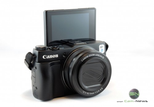 Canon G1x markII - Selfie Klappdisplay - SmartCamNews