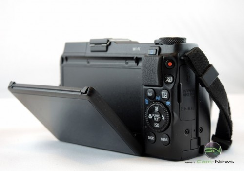 Display Canon G1xmarkII - SmartCamNews