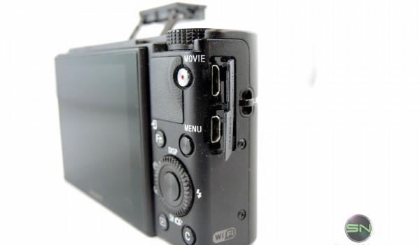 Anschlüsse - Sony RX100 mIII - SmartCamNews