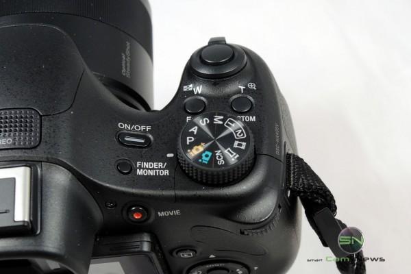 Bedienelemete und Handgriff - Unboxing - Sony WX400V - Bridge Kamera - SmartCamNews
