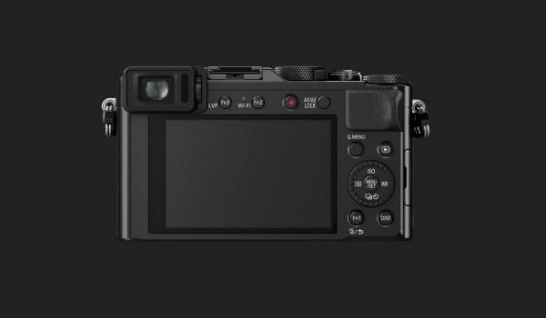 Panasonic LX 100 - Rückseite und Display