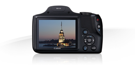 PowerShot SX530 HS Display