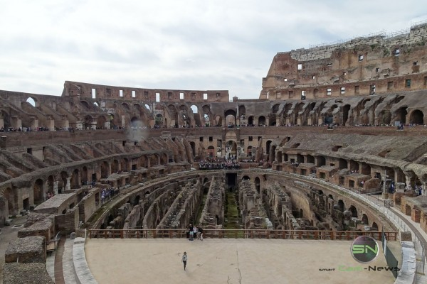 Rom altes Colloseum, Sony HX400V, SmartCamNews