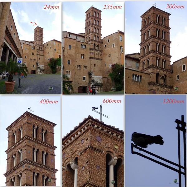 die Taube am Turm - Rom Italien - Sony HX400V - SmartCamNews