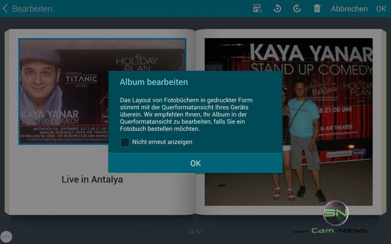Album erstellen Story Album App