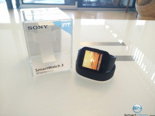 Sony Smartwatch 3 mit GPS