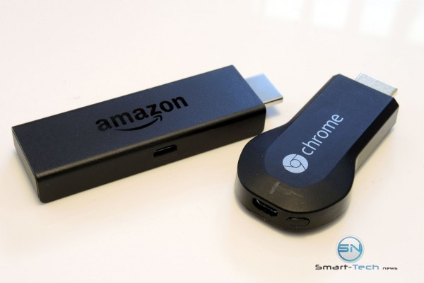 Amazon FireTv vs ChromeCast