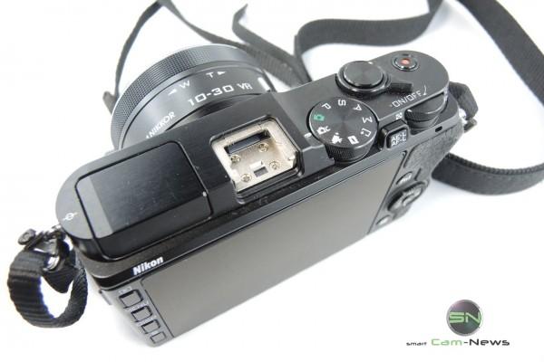 Blitzschuh Nikon 1 V3 - SmartCamNews